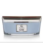 WoodWick WW Soft Chambray Ellipse Candle