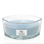 WoodWick WW Sea Salt & Cotton Ellipse Candle