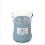 WoodWick WW Sea Salt & Cotton Medium Candle