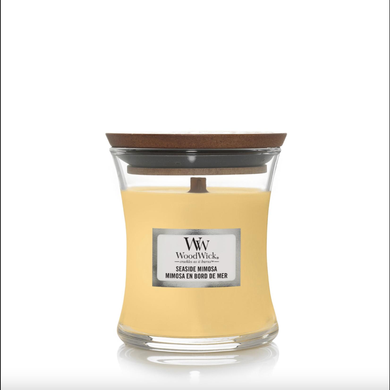 WoodWick WW Seaside Mimosa Mini Candle 20 branduren