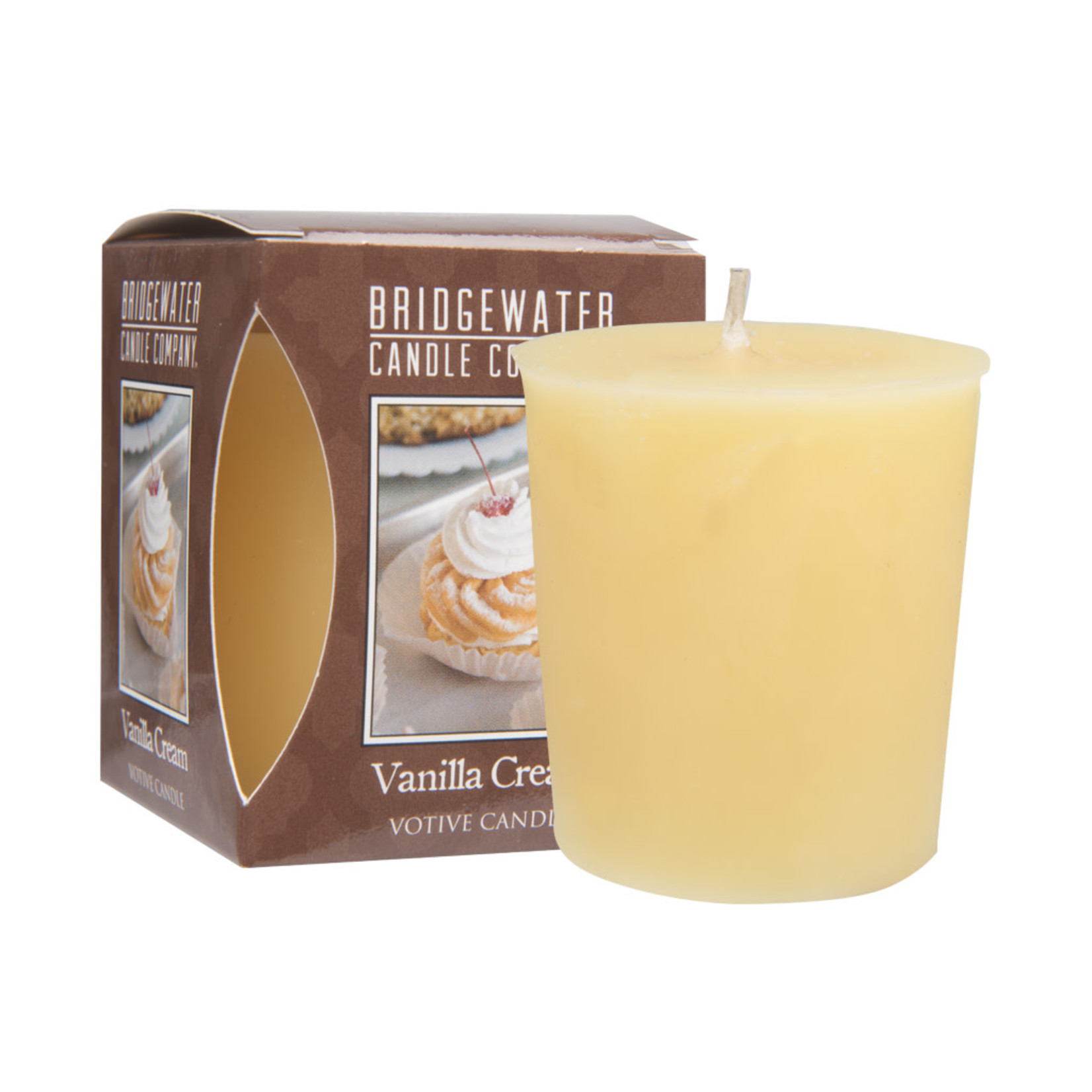 Bridgewater Votive Candle / Geurkaarsje Vanilla Cream