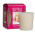 Bridgewater Votive Candle / Geurkaarsje Let's Celebrate