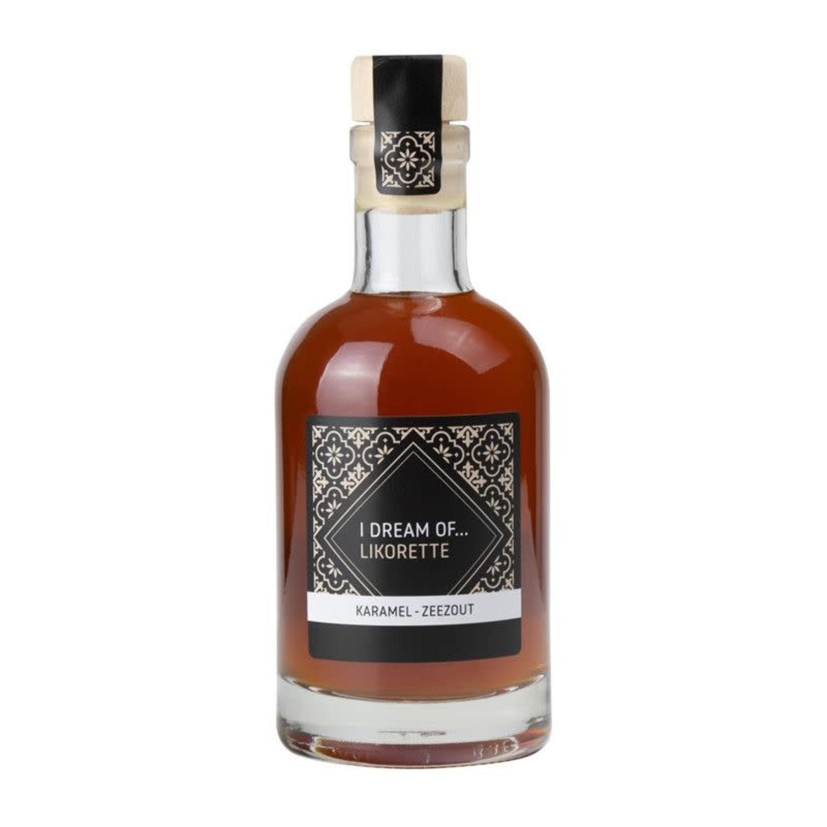 Foodelious IDO Karamel-zeezout Likorette 200ml