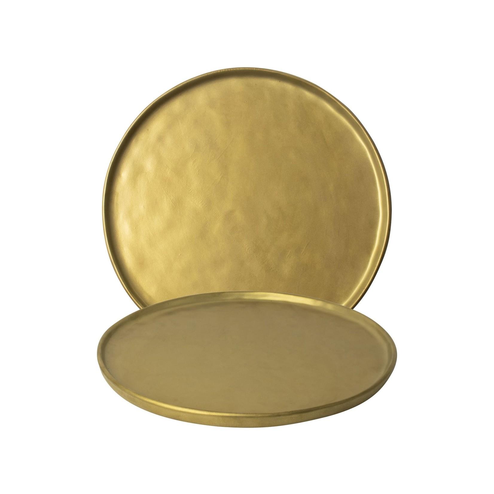 Gusta Bord ø26,5cm Goud TT Gold