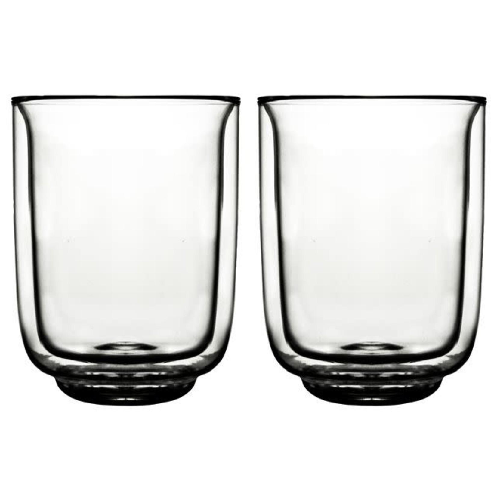 Gusta Dubbelwandig Glas FIKA 325ml per stuk