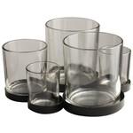 Gusta Metalen houder met glaasjes 5pcs