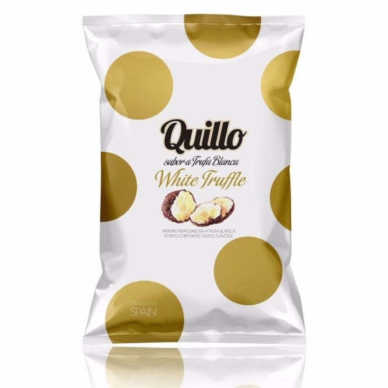 Foodelious Quillo Chips White Truffle (truffel) 130gr