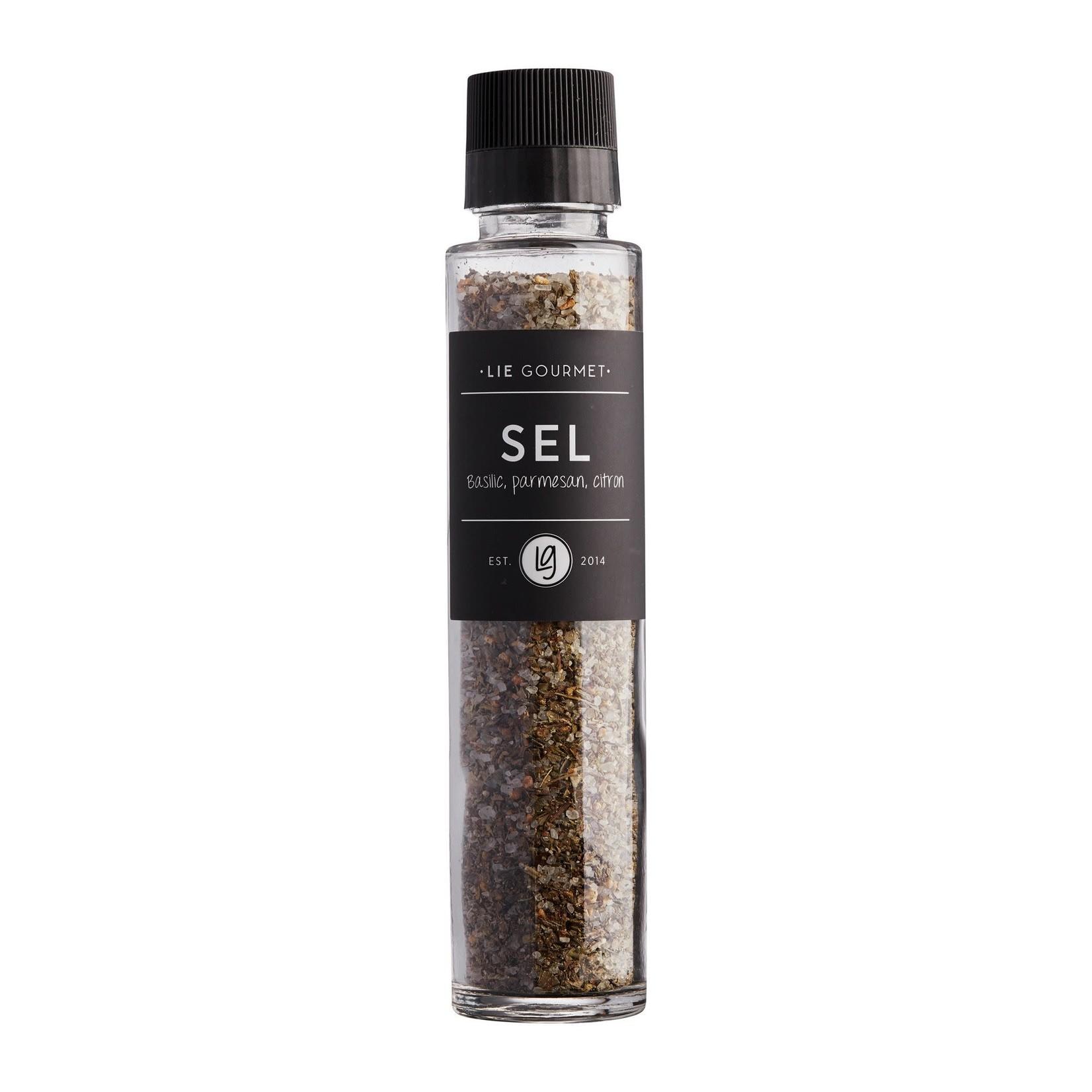 Lie Gourmet Lie Gourmet Salt basil, parmesan, lemon