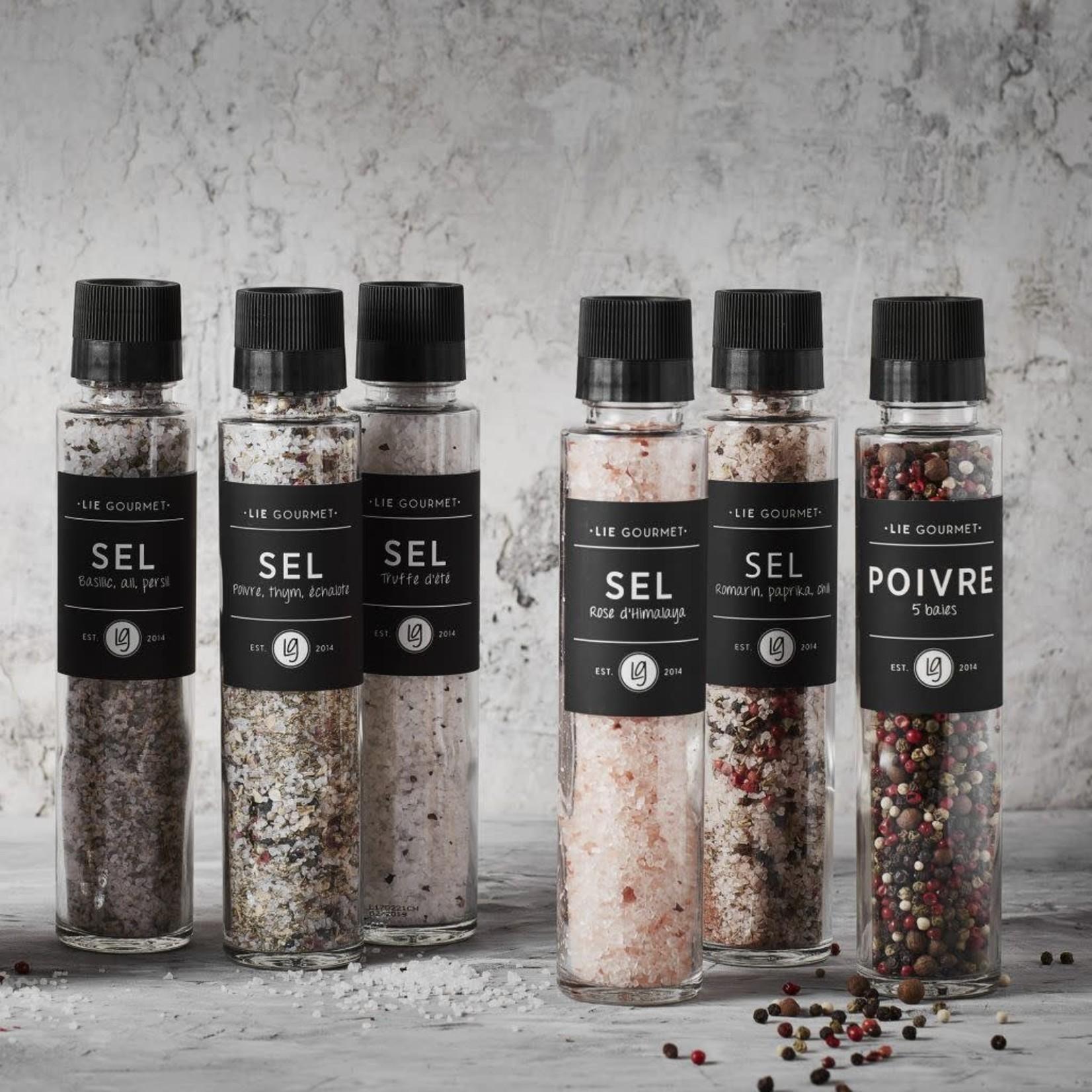 Lie Gourmet Lie Gourmet Salt rosemary, paprika, chili