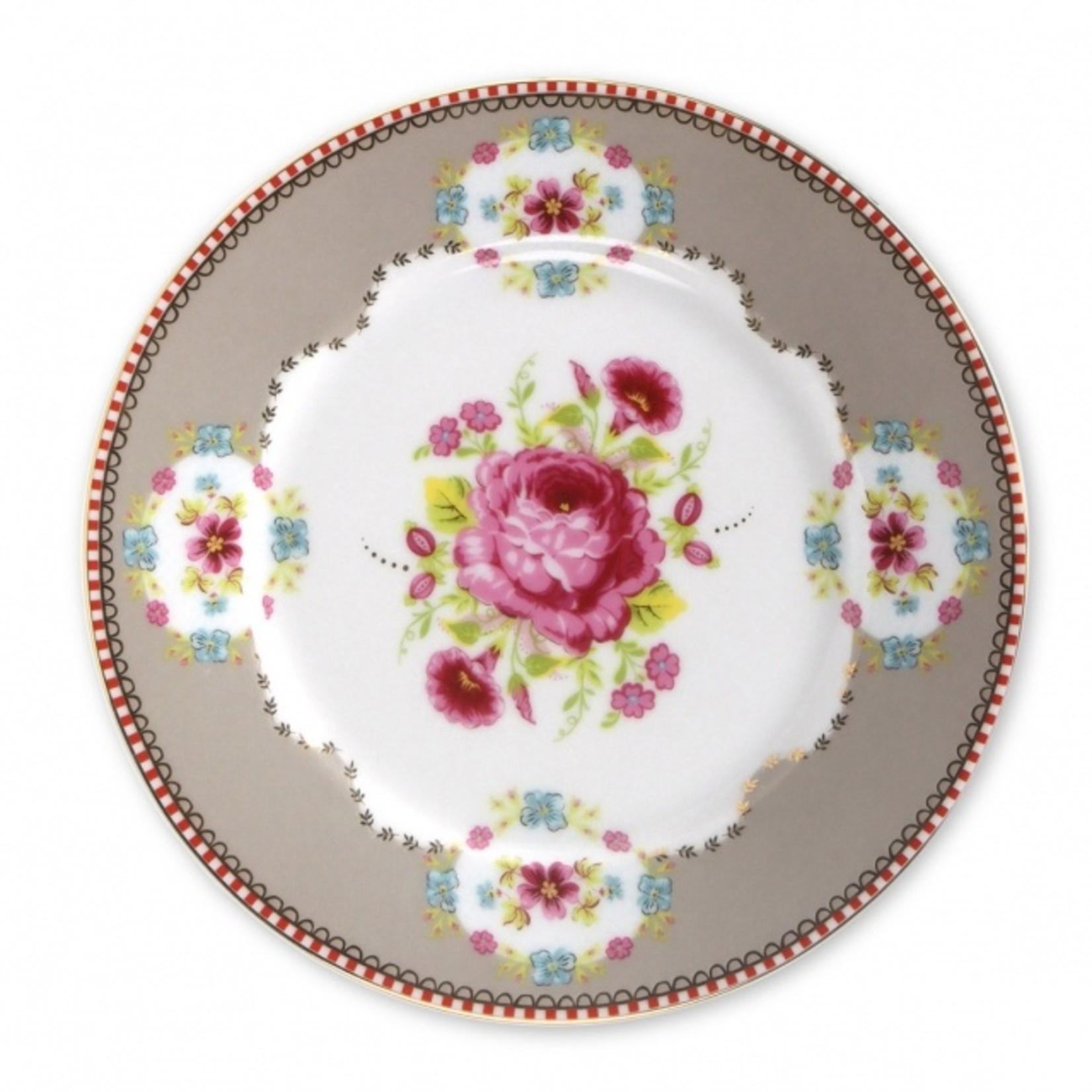 PIP Studio Plate Early Bird Khaki 17cm