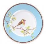 PIP Studio Plate Early Bird Blue 21cm
