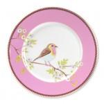 Pip Studio Early Bird Plate Early Bird Pink 21cm