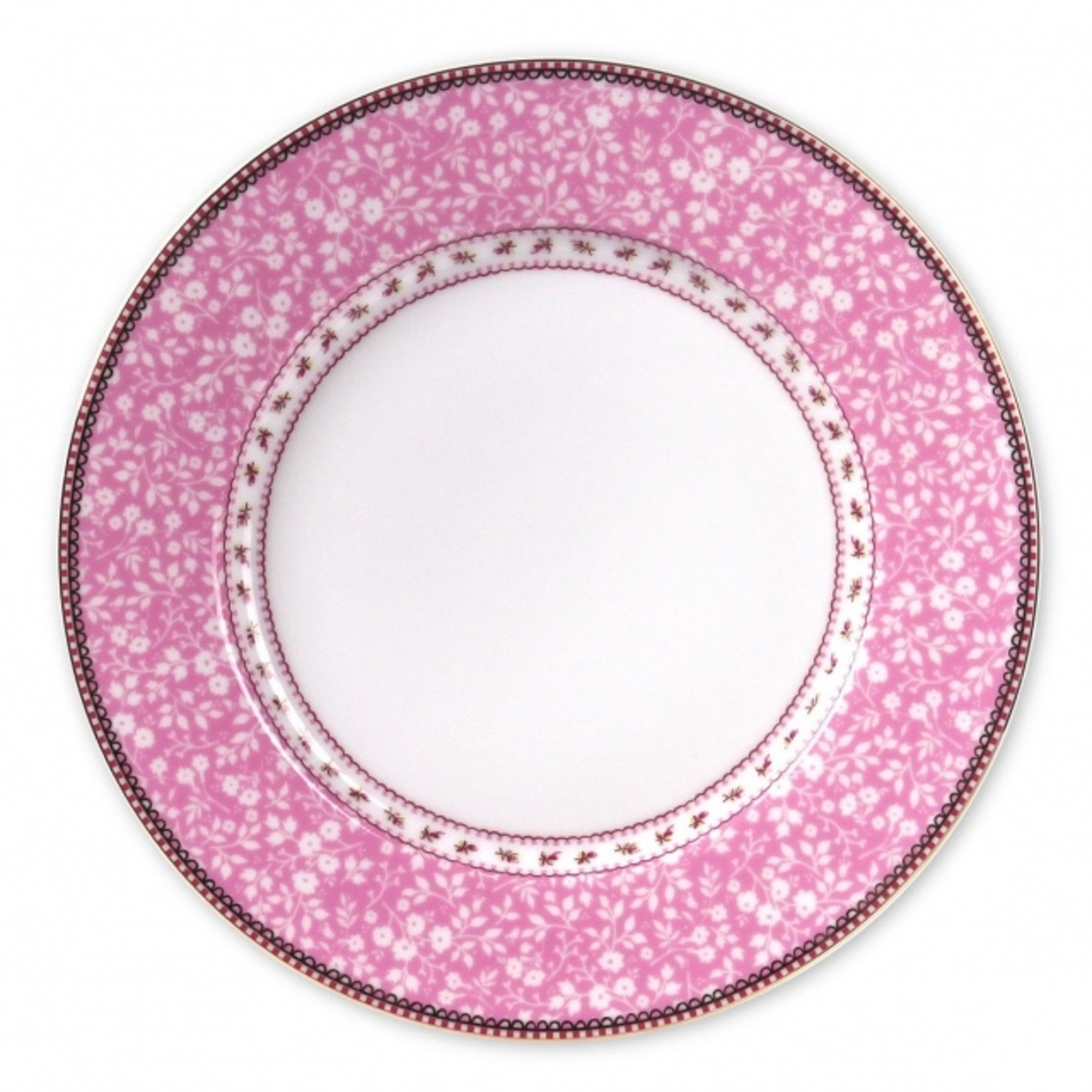 Pip Studio Early Bird Plate Lovely Branches Pink 26.5cm
