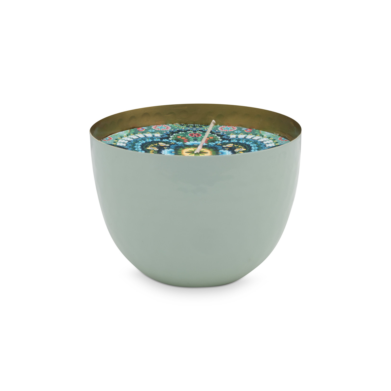 PIP Studio Cup With Candle Blue 11 cm