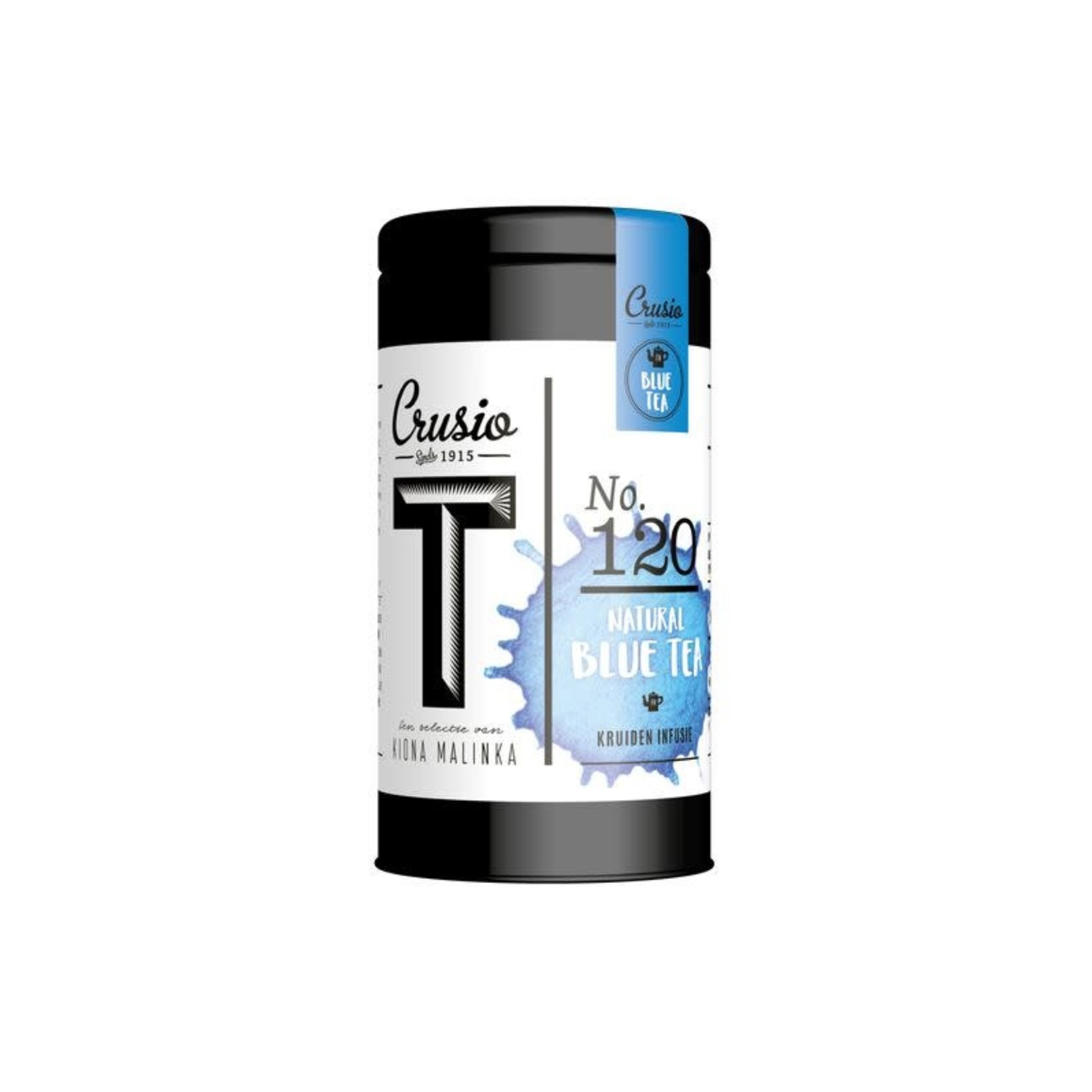 Foodelious Crusio natural blue tea kruiden infusie