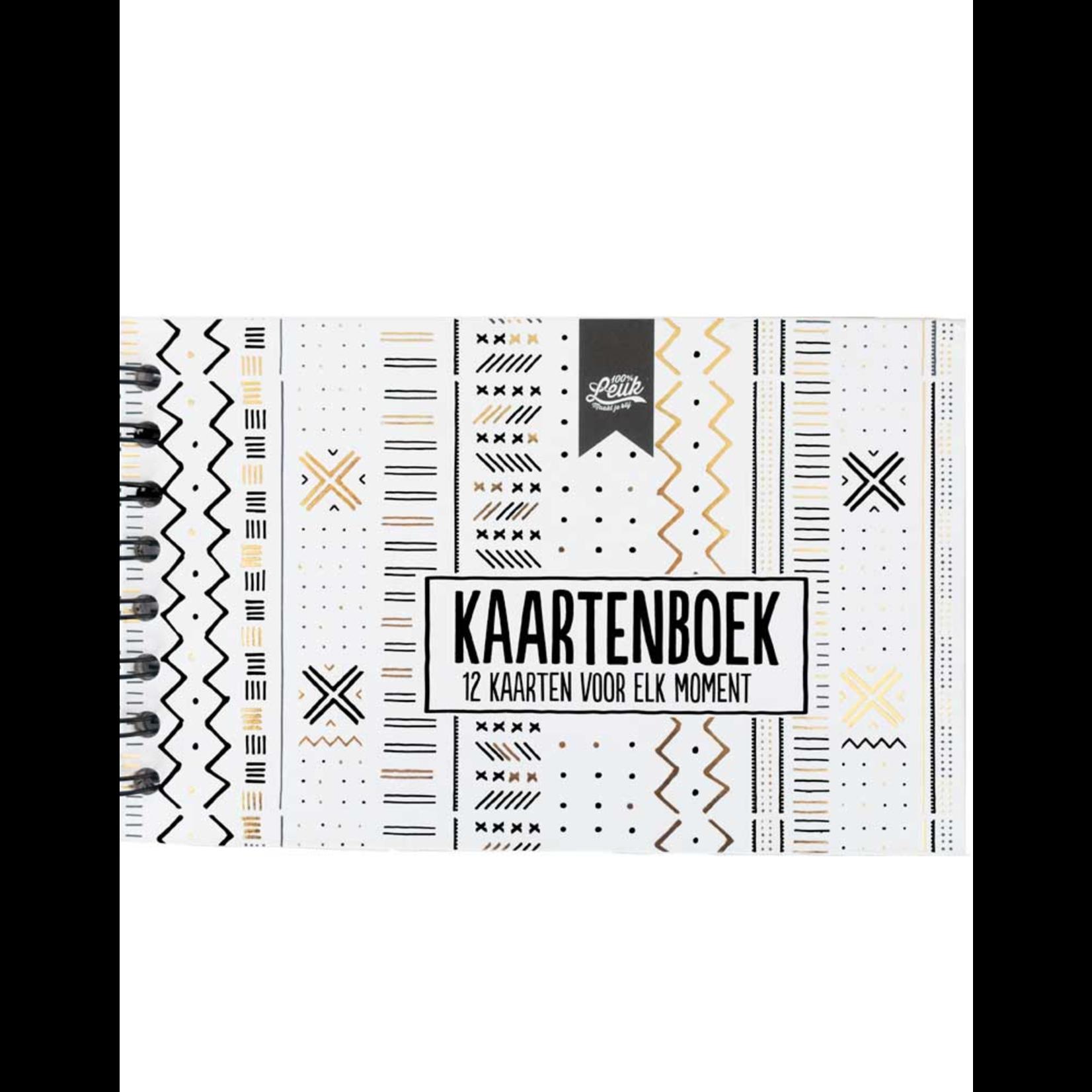 100% leuk Kaartenboek
