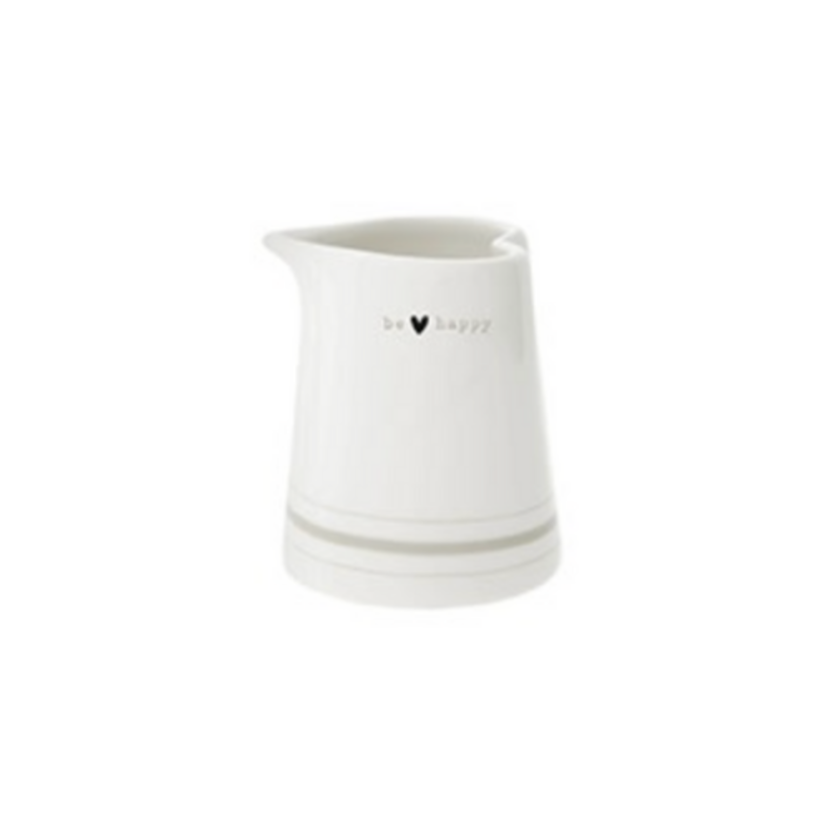 Bastion Collections Jug White Be Happy XS in Titane