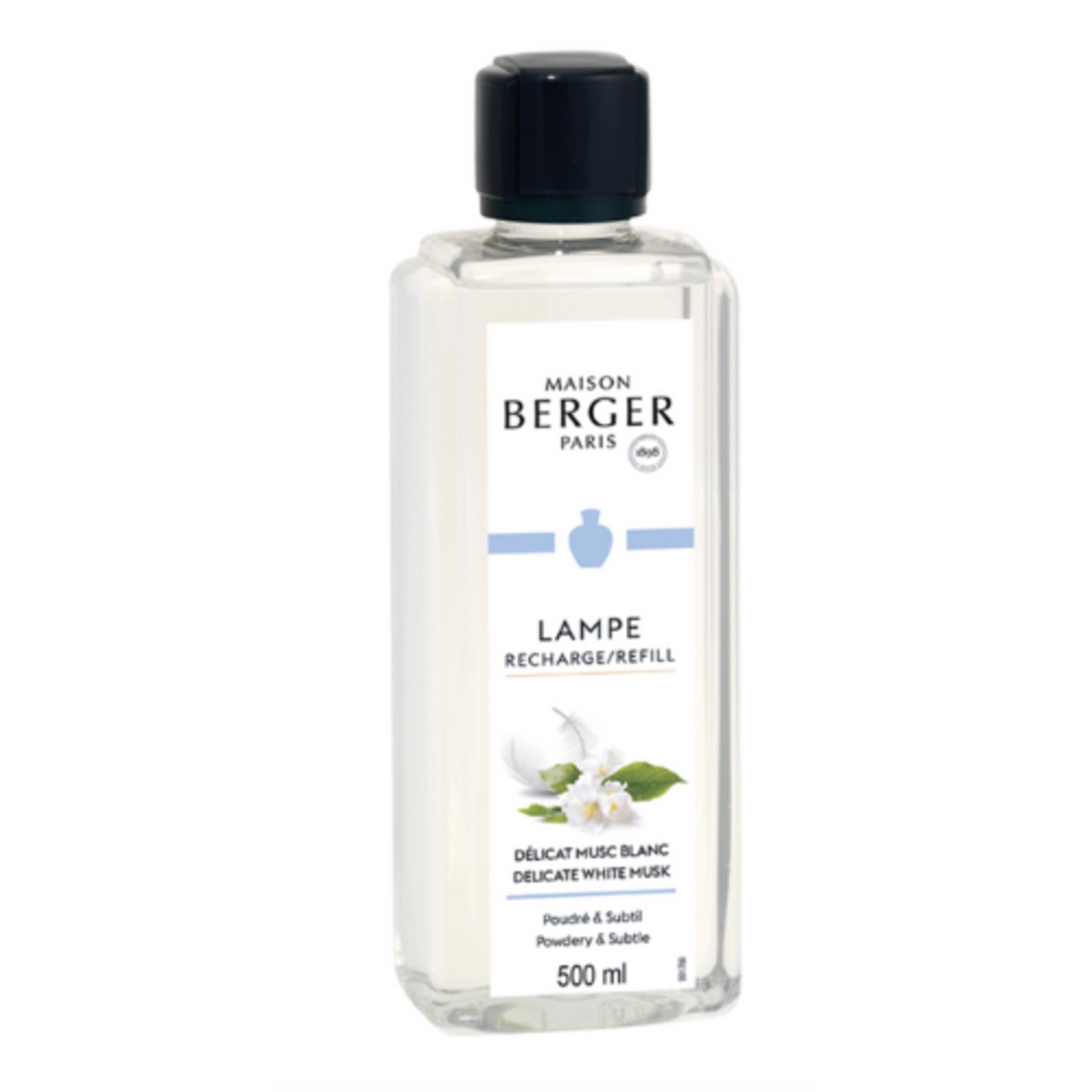 Lampe Berger Lampe Berger Huisparfum 500ml Délicat Musc Blanc / Delicate White Musk