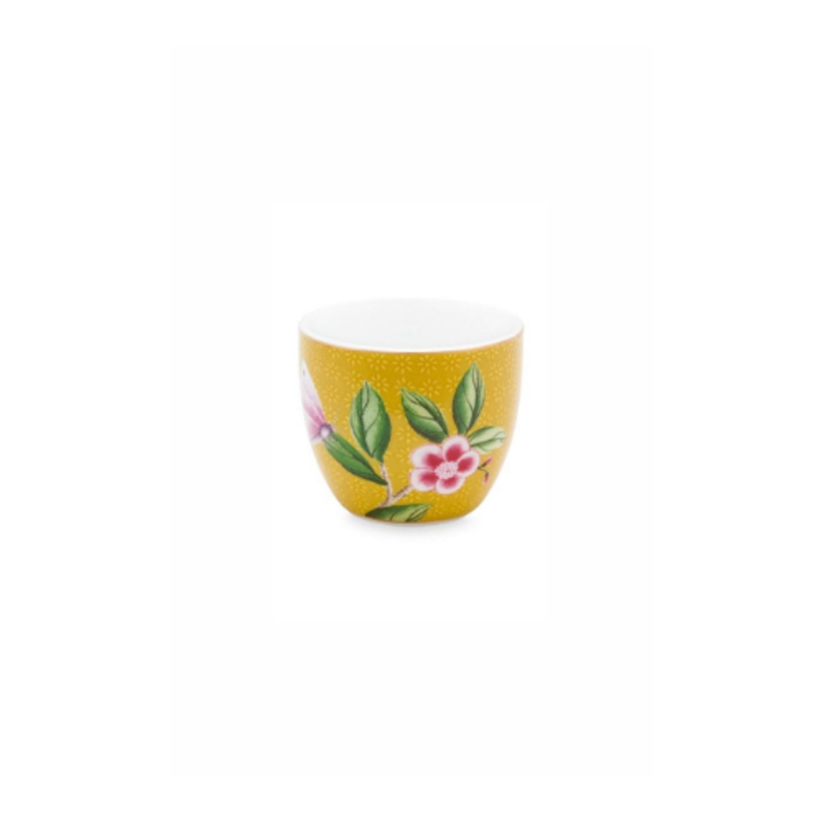 PIP Studio Egg Cup Blushing Birds Yellow