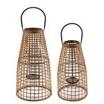 Home Society Lantern Fumico Naturel L