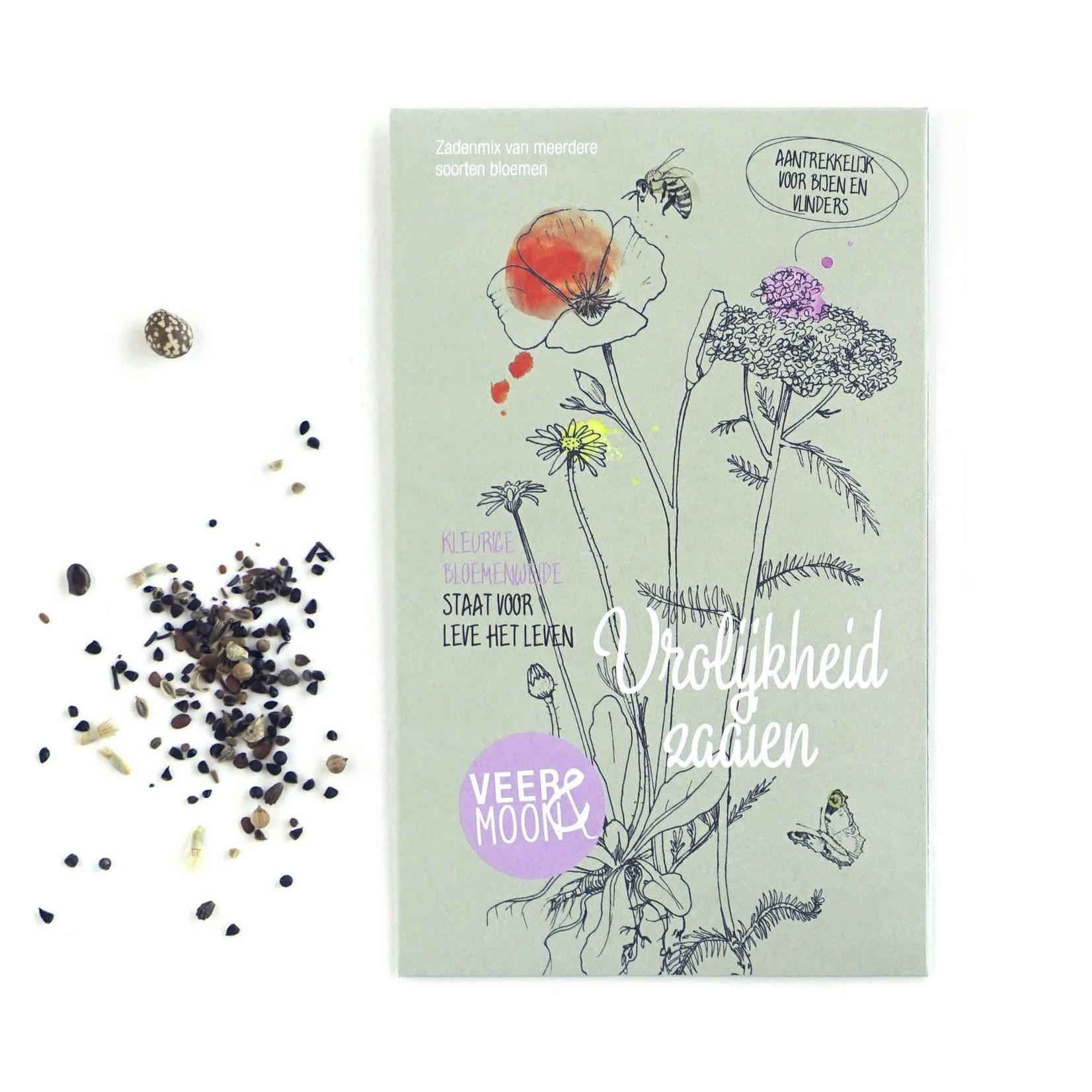 Veer&Moon Bloemenzaden 'Vrolijkheid zaaien'