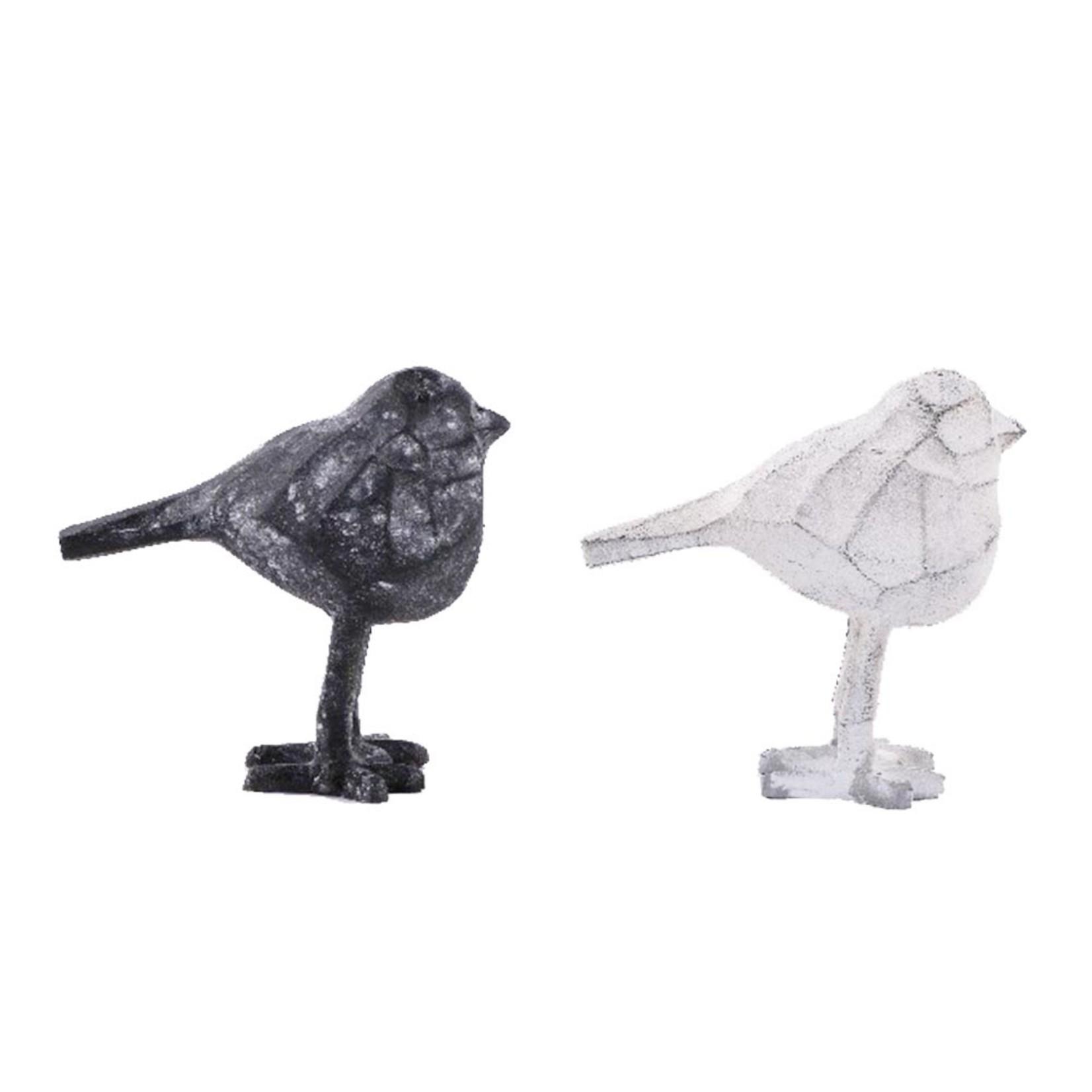 Home Society Ornament Bird Alec White