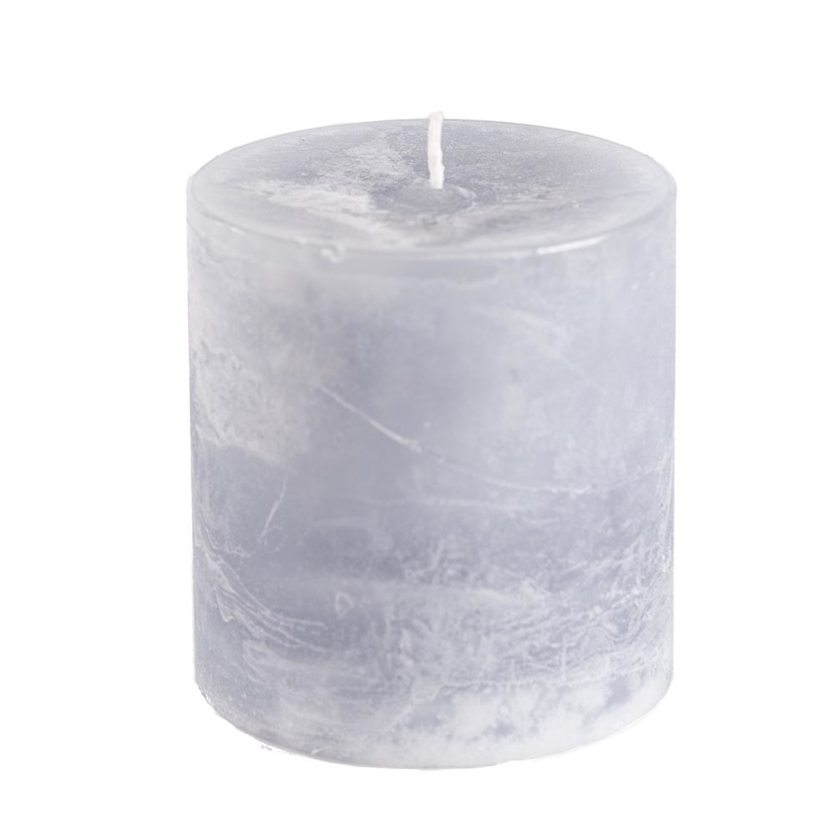Home Society Pillar Candle 9x10cm Grey