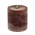 Home Society Pillar Candle 9x10cm Brown
