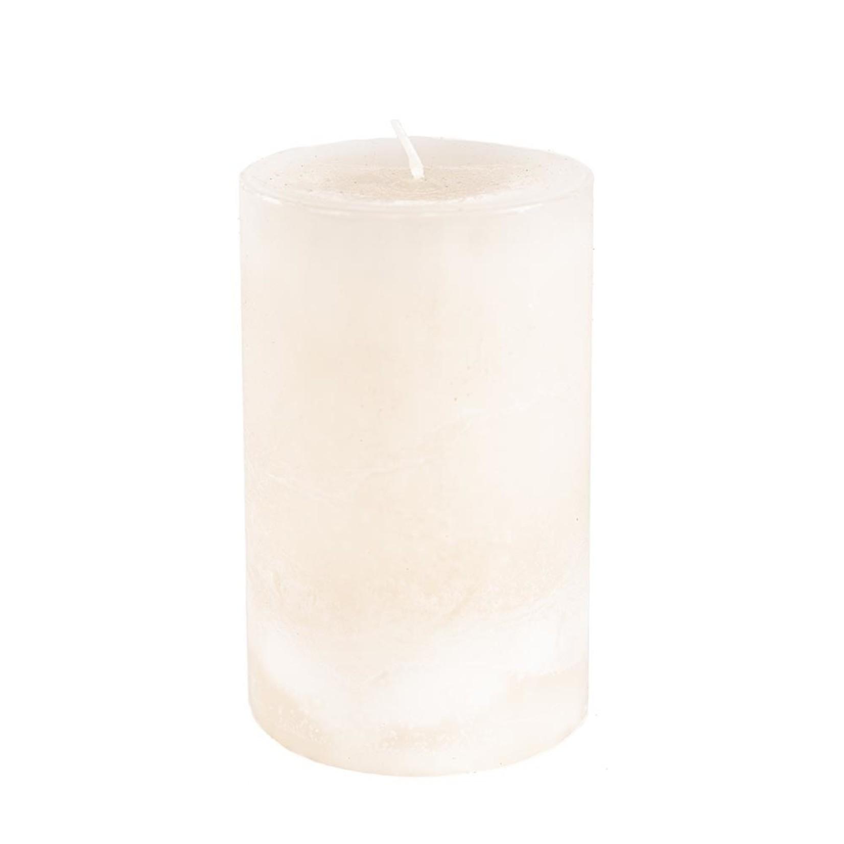 Home Society Pillar Candle 9x15cm Crerme