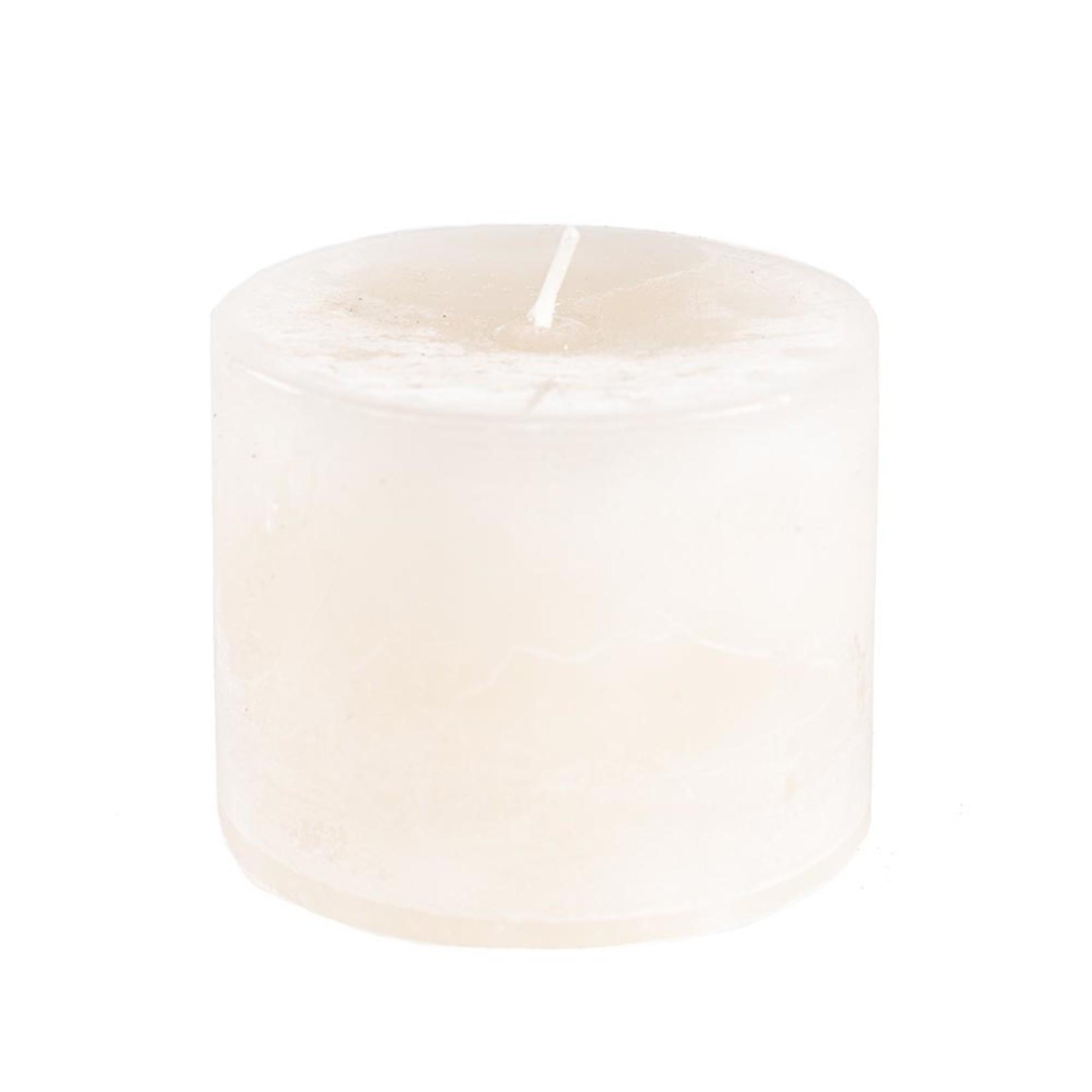Home Society Pillar Candle 9x7cm Creme