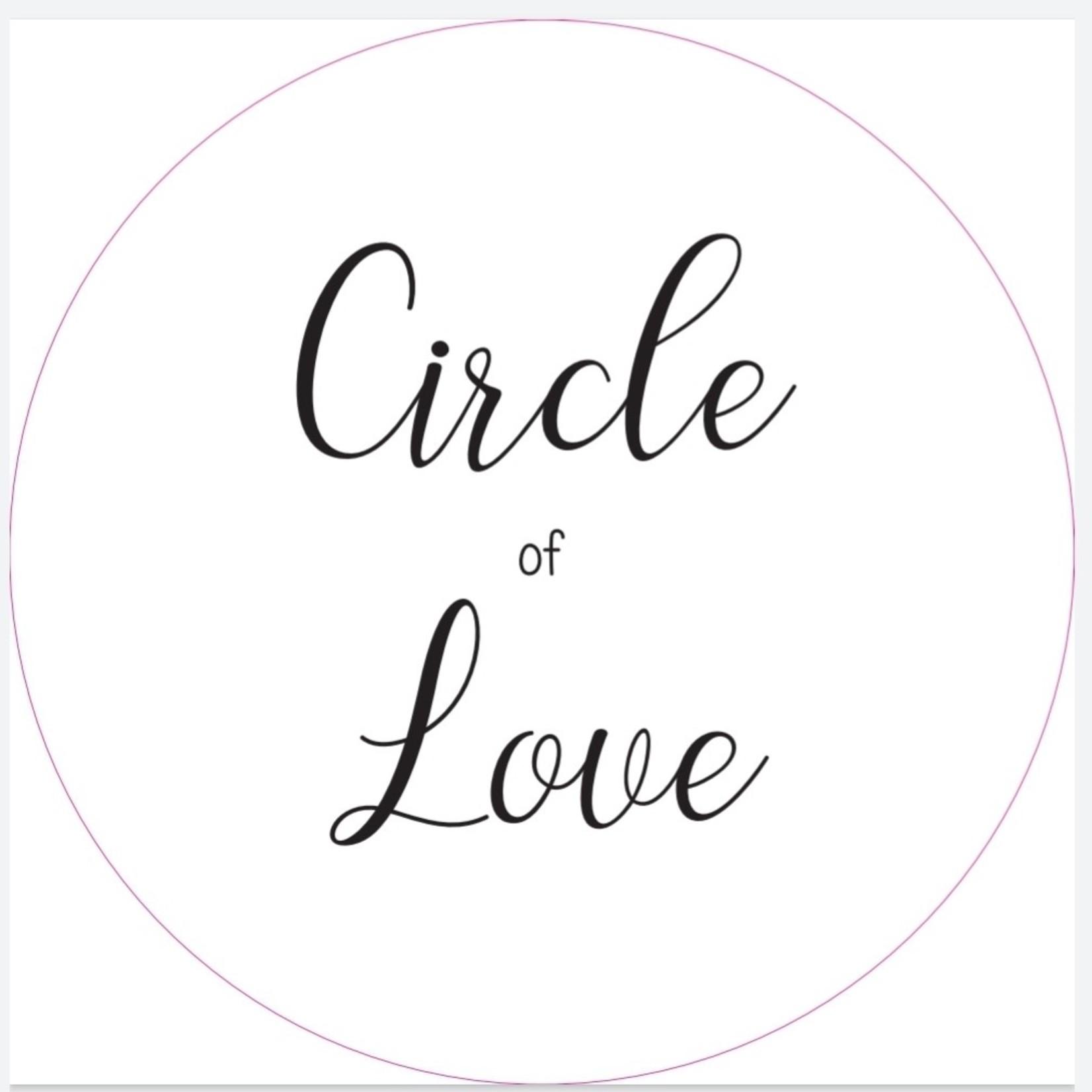 Muurcirkel Circle of love 20cm