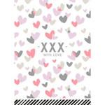 Collectiv Warehouse Ansichtkaart -xxx- with love