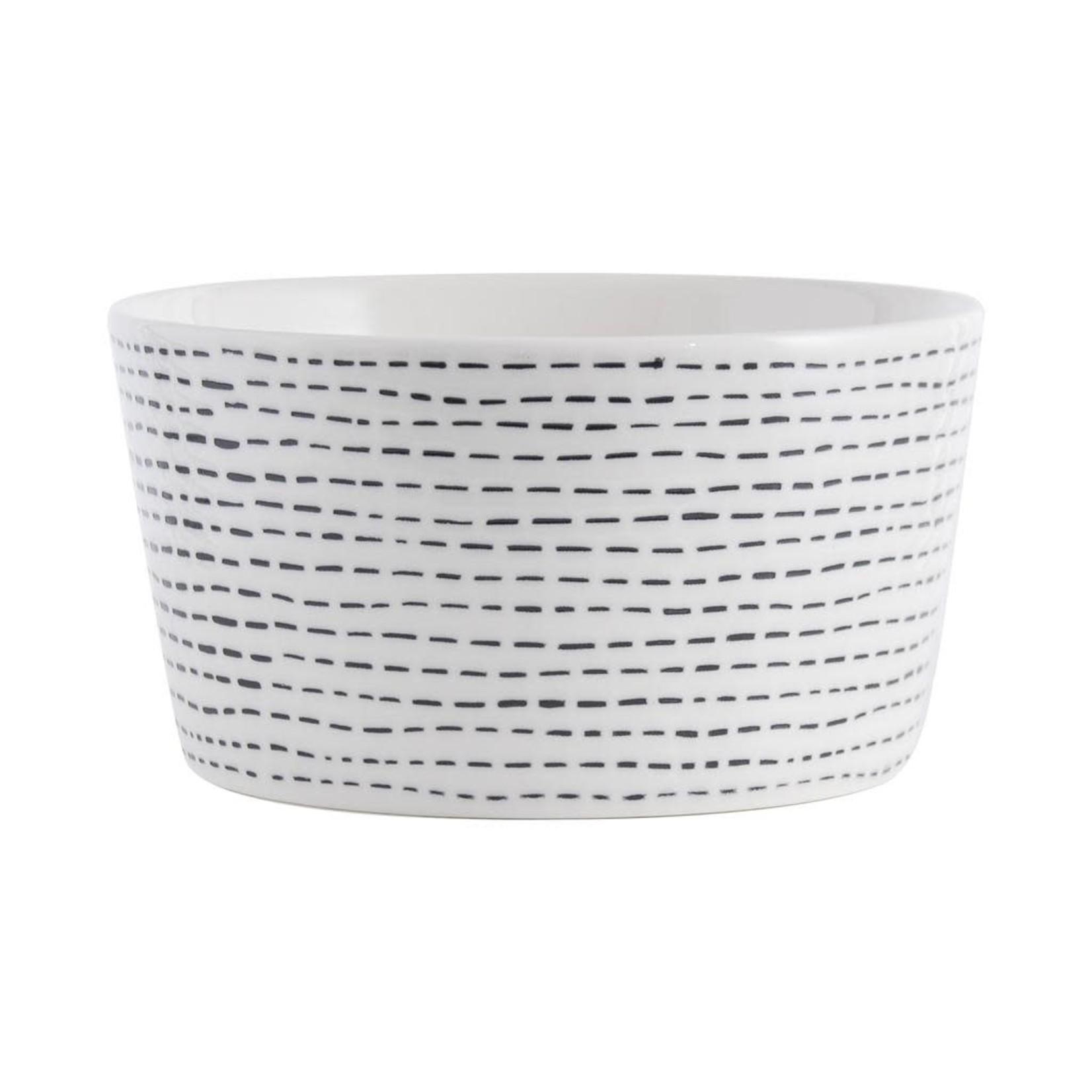 Gusta Gusta FIKA kom Stripes 12x6,5 cm
