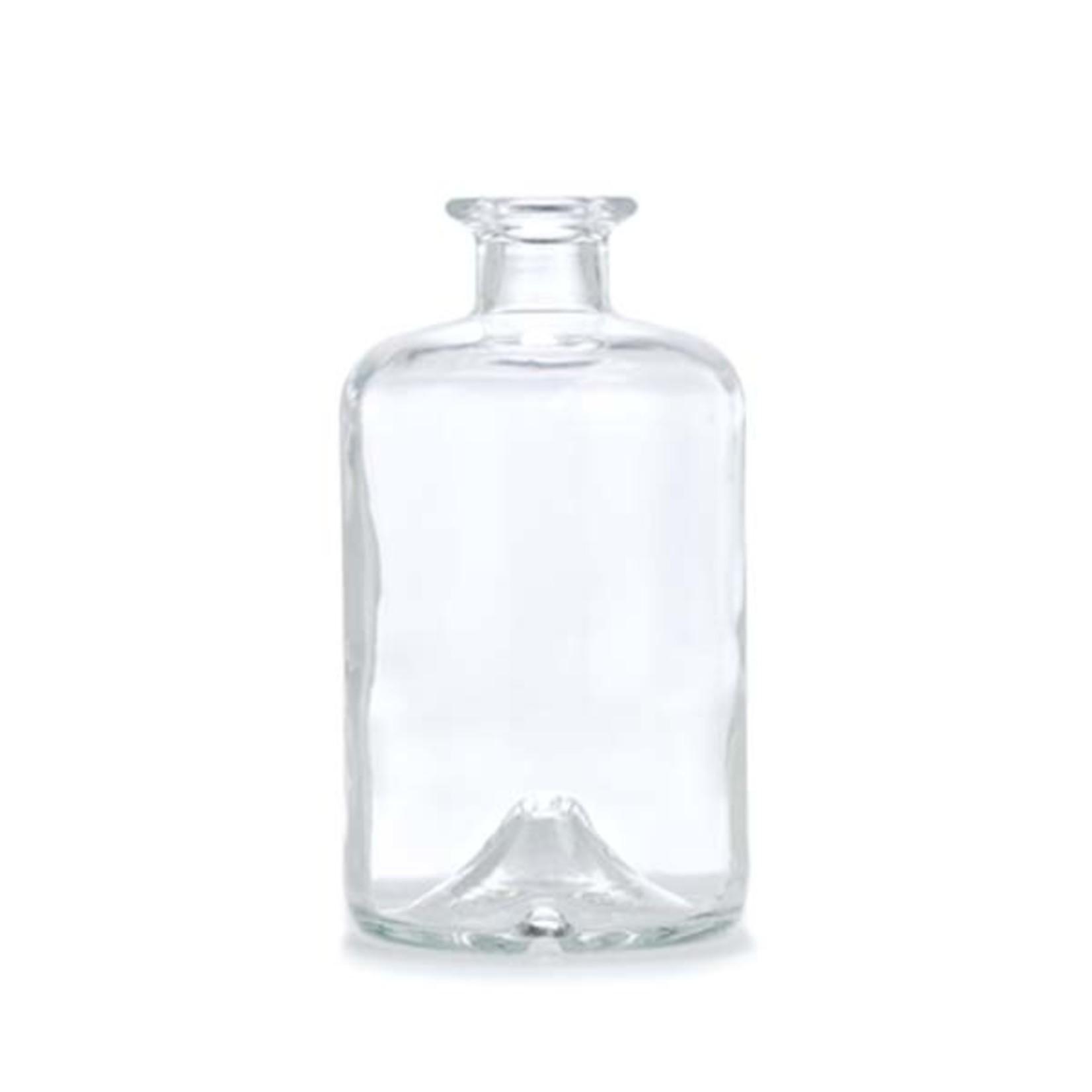 Rustik Lys Fles voor kaars helder glas vulbaar