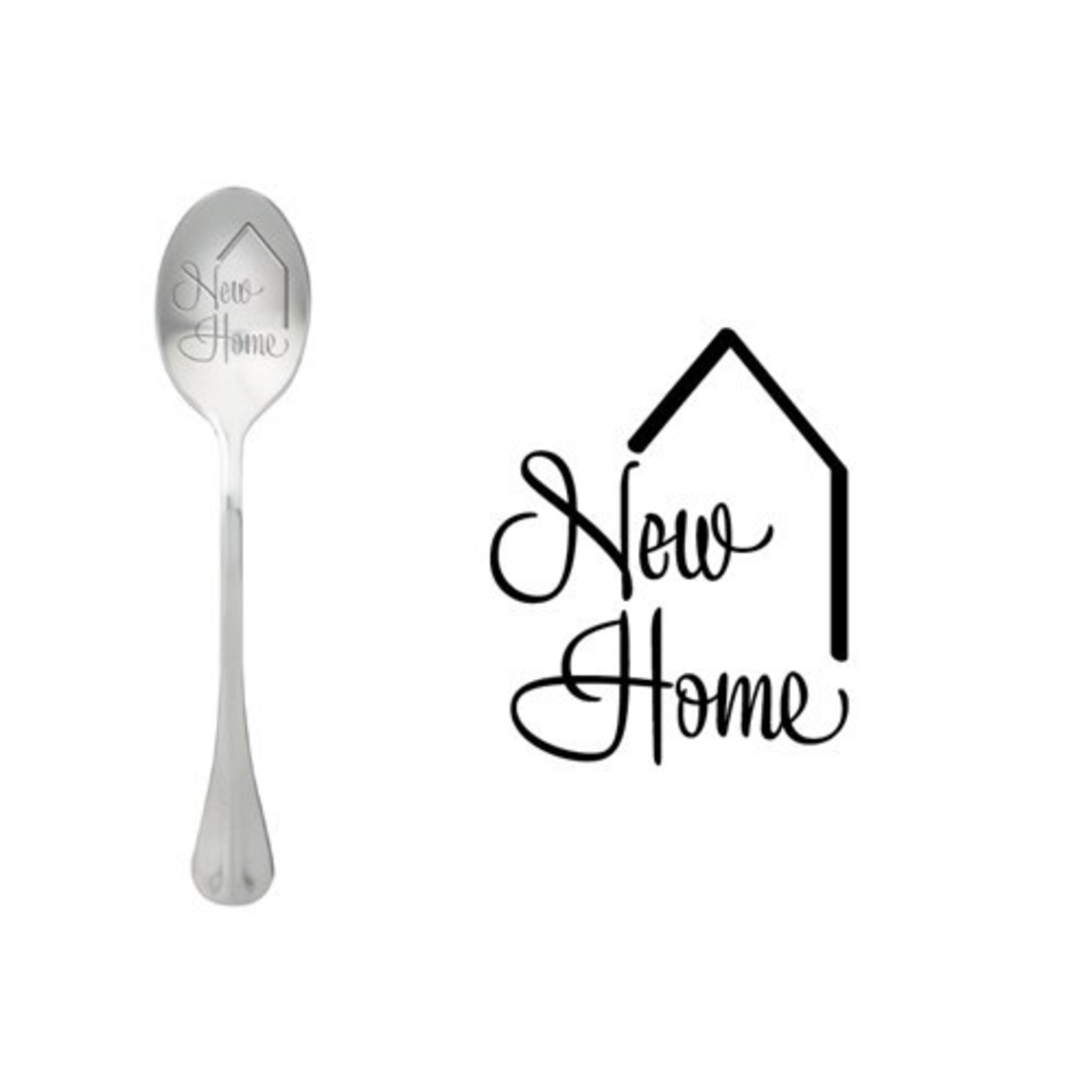 One message spoon Lepel New Home
