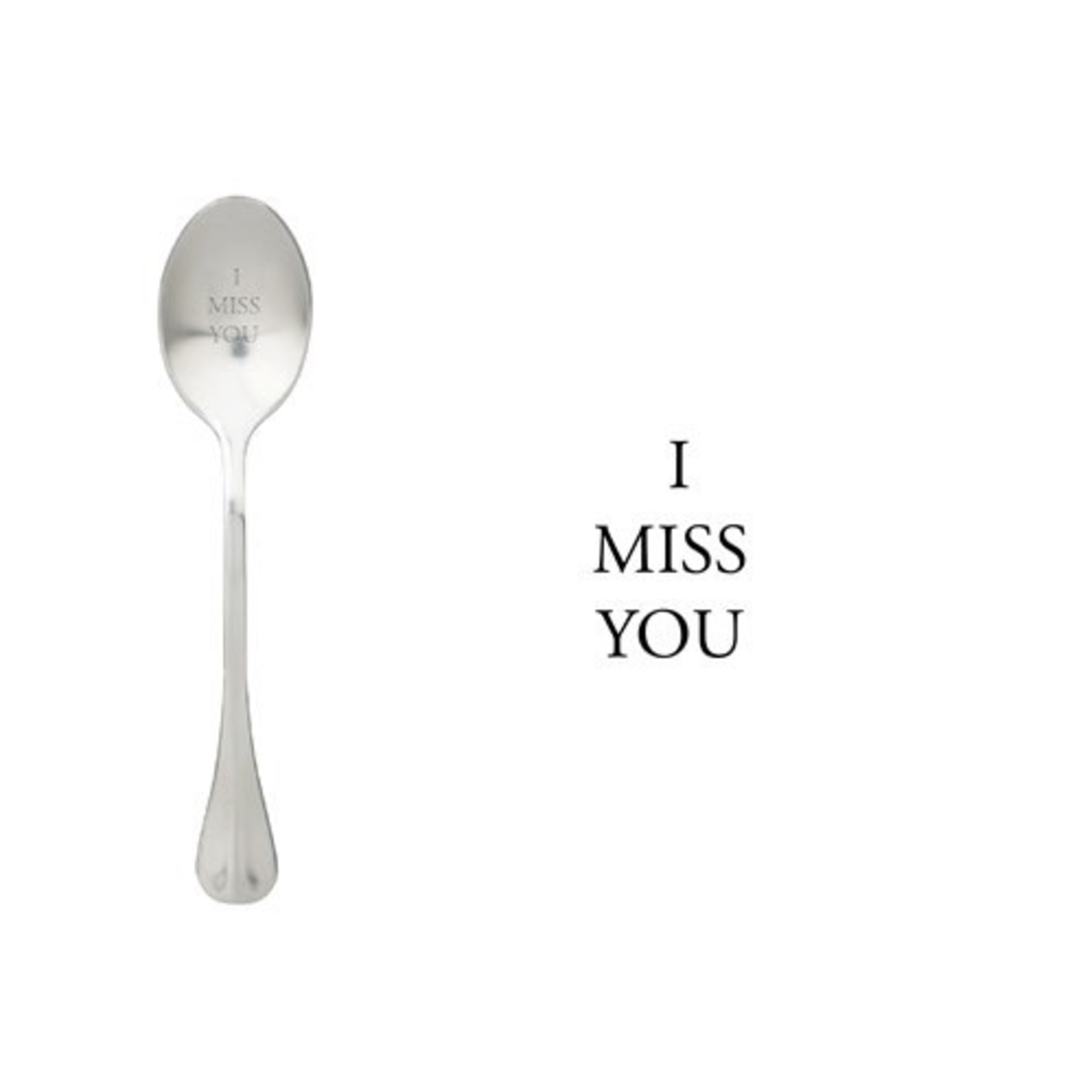 One message spoon Lepel I Miss You