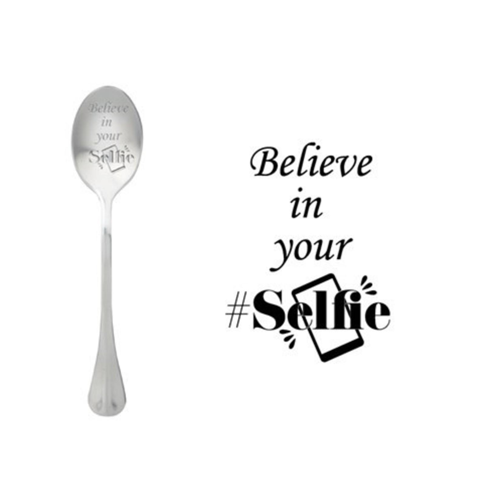 One message spoon Lepel Believe in your Selfie