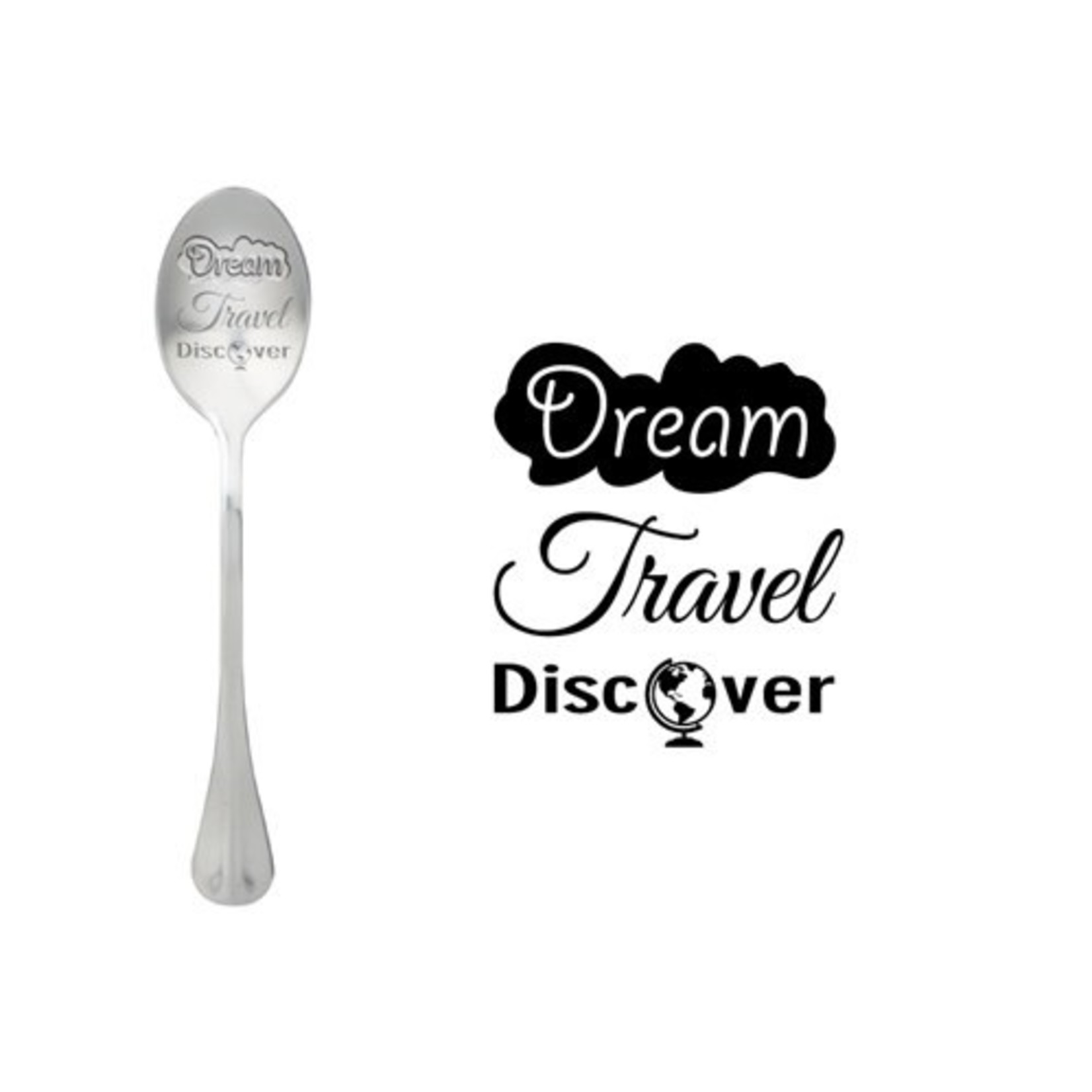 One message spoon Lepel Dream Travel Discover