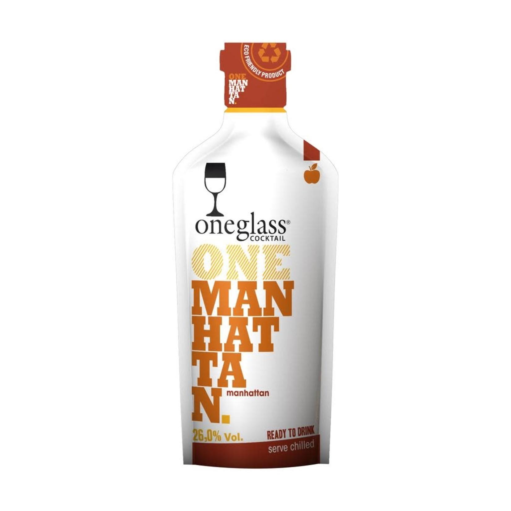 One Glass Cocktail 100 ML - Manhattan