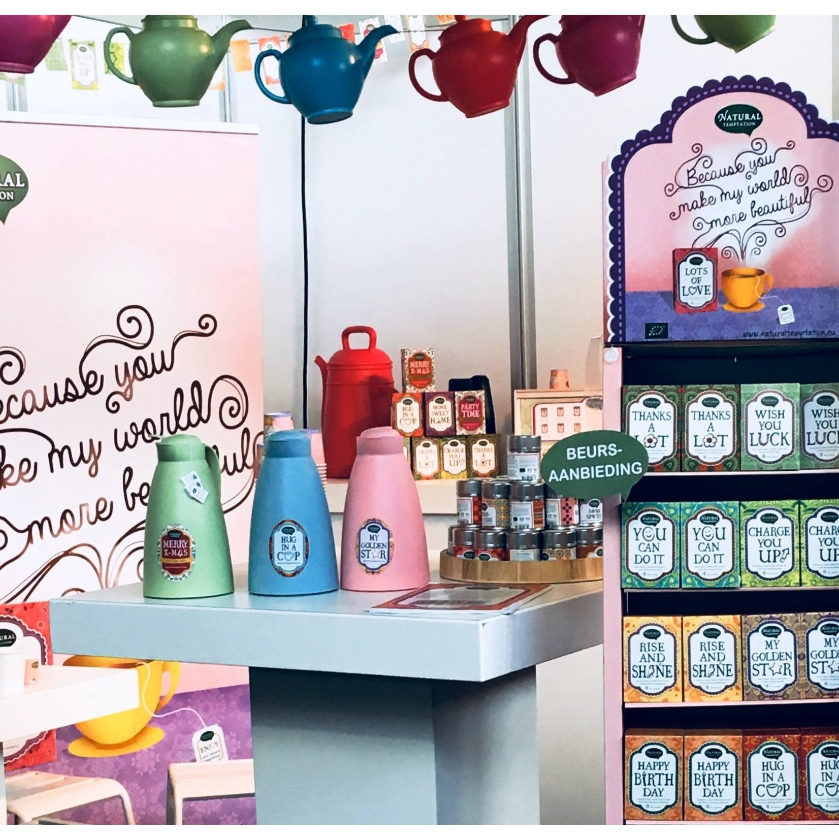 Organic Flavour Company B.V. Thee Hug in a cup 18 zakjes