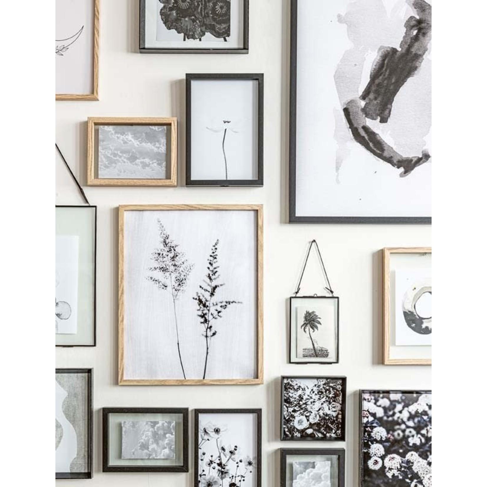 vtwonen Basic collection Photo Frame Wood Black A7 13.5x18x4cm