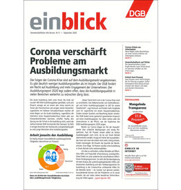 Zeitung einblick September 09/2020