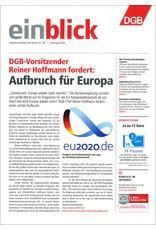 Zeitung einblick Juli/August  2020