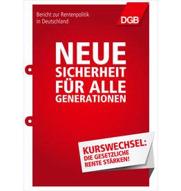 Broschüre Rentenbericht