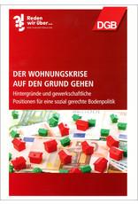 DGB-Broschüre Der Wohnungskrise auf den Grund gehen