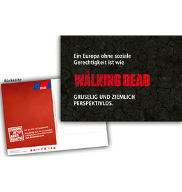 "Postkarte ""The Walking Dead"""