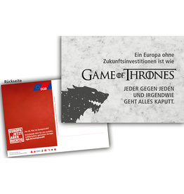 "Postkarte ""Game of Thrones"""