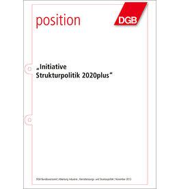 Broschüre Initiative  Strukturpolitik 2020plus