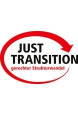 DGB-Aufkleber Just Transition Deutsch