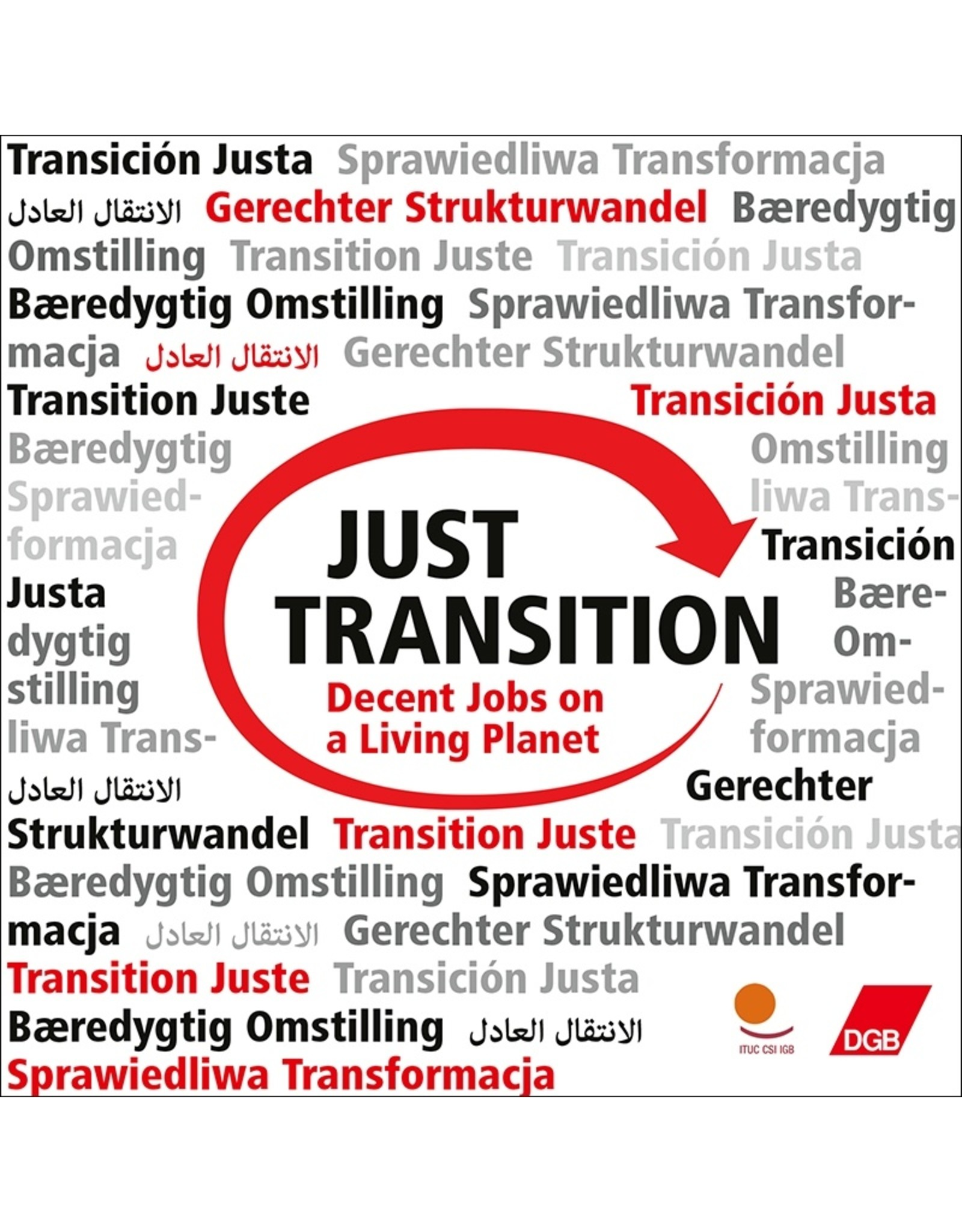 DGB-Aufkleber Just Transition